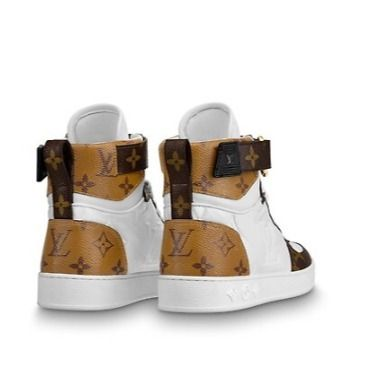 Louis Vuitton Low-Top 2019-20AW BOOMBOX SNEAKER BOOT white×brown blue×pink shoes 8