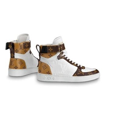 Louis Vuitton Low-Top 2019-20AW BOOMBOX SNEAKER BOOT white×brown blue×pink shoes 9