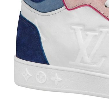 Louis Vuitton Low-Top 2019-20AW BOOMBOX SNEAKER BOOT white×brown blue×pink shoes 12