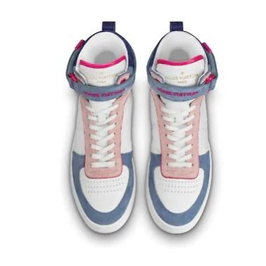 Louis Vuitton Low-Top 2019-20AW BOOMBOX SNEAKER BOOT white×brown blue×pink shoes 13