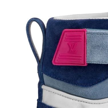 Louis Vuitton Low-Top 2019-20AW BOOMBOX SNEAKER BOOT white×brown blue×pink shoes 14