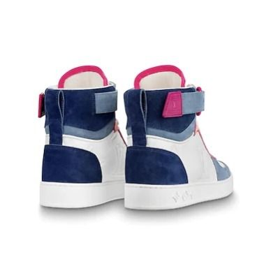 Louis Vuitton Low-Top 2019-20AW BOOMBOX SNEAKER BOOT white×brown blue×pink shoes 15