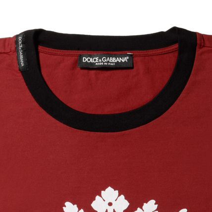 Dolce & Gabbana Crew Neck Crew Neck Cotton Short Sleeves Crew Neck T-Shirts 3