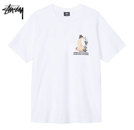 STUSSY More T-Shirts Street Style Short Sleeves T-Shirts