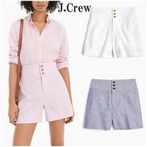 J Crew Casual Style Plain Shorts