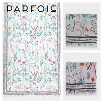 PARFOIS Casual Style Lightweight Scarves & Shawls