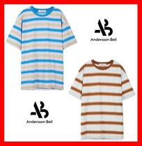 ANDERSSON BELL Unisex Street Style Cotton T-Shirts