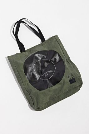 Unisex Canvas Street Style Collaboration Totes