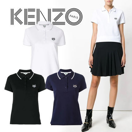 Short Casual Style Street Style Plain Cotton Short Sleeves