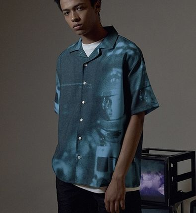 OVERR Shirts Street Style Short Sleeves Shirts 6