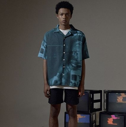 OVERR Shirts Street Style Short Sleeves Shirts 7