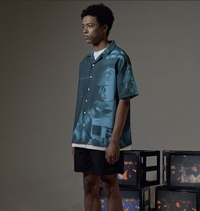 OVERR Shirts Street Style Short Sleeves Shirts 8
