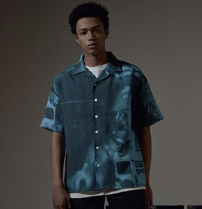 OVERR Shirts Street Style Short Sleeves Shirts 11