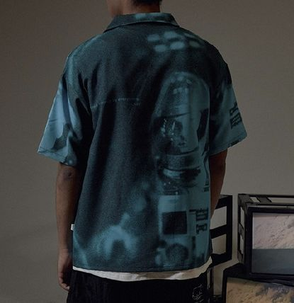OVERR Shirts Street Style Short Sleeves Shirts 12