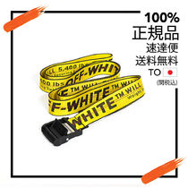 Off-White Authentic Off-White Unisex Yellow Industrial Belt