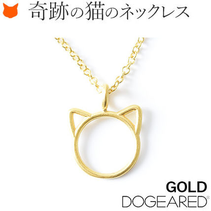 Dogeared Casual Style Animal Silver 14K Gold Necklaces & Pendants