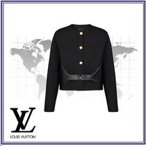 Louis Vuitton Short Casual Style Wool Blended Fabrics Jackets