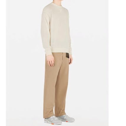 Louis Vuitton Knits & Sweaters Crew Neck Pullovers Cashmere Blended Fabrics Street Style 4