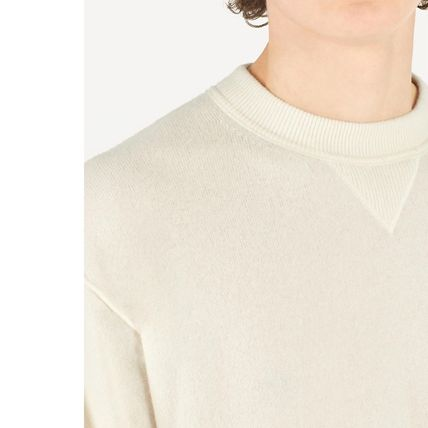 Louis Vuitton Knits & Sweaters Crew Neck Pullovers Cashmere Blended Fabrics Street Style 5