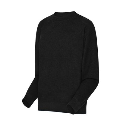 Louis Vuitton Knits & Sweaters Crew Neck Pullovers Cashmere Blended Fabrics Street Style 7