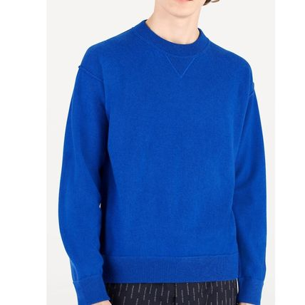 Louis Vuitton Knits & Sweaters Crew Neck Pullovers Cashmere Blended Fabrics Street Style 12