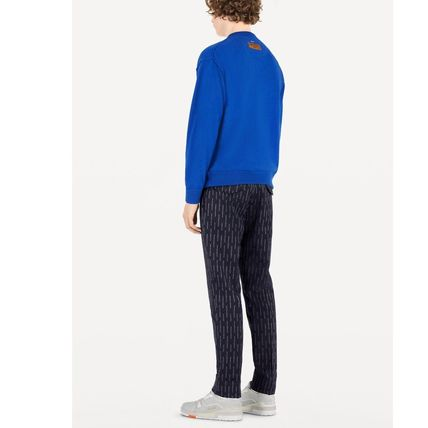 Louis Vuitton Knits & Sweaters Crew Neck Pullovers Cashmere Blended Fabrics Street Style 13