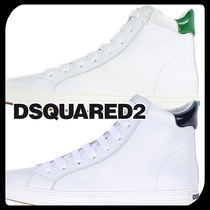 D SQUARED2 Street Style Plain Leather Chelsea Boots Sneakers