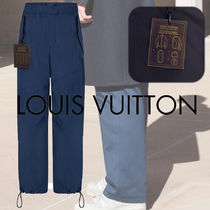 Louis Vuitton Blended Fabrics Street Style Plain Pants