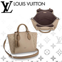 Louis Vuitton MAHINA Monogram Blended Fabrics Tassel 3WAY Leather Elegant Style