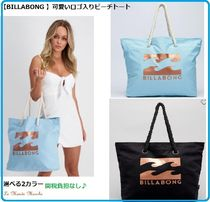Billabong Casual Style Street Style A4 Plain Totes