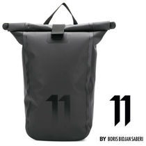 11 BY BBS Unisex Street Style Backpacks