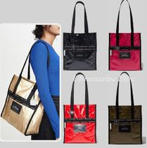 MARC JACOBS Casual Style Nylon Plain Totes