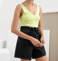 & Other Stories Short Casual Style Plain Shorts