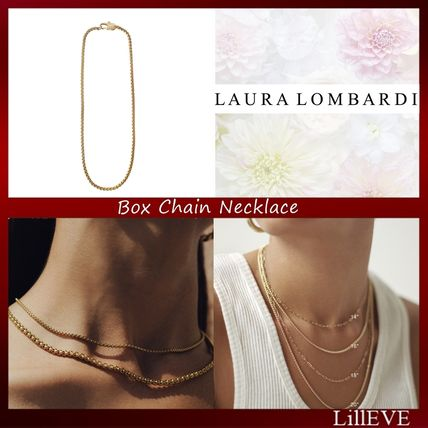 Casual Style Chain 14K Gold Necklaces & Pendants