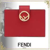 FENDI Leather Card Holders