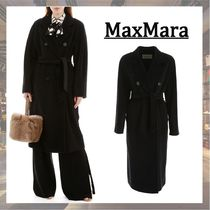 MaxMara Wool Plain Peacoats