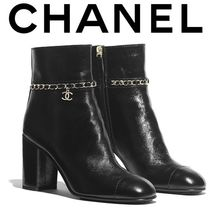 CHANEL High Heel Boots