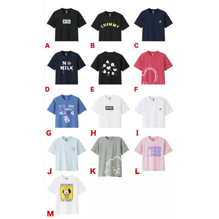 BT21 More T-Shirts T-Shirts