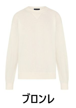 Louis Vuitton Knits & Sweaters Crew Neck Cashmere Long Sleeves Knits & Sweaters 8