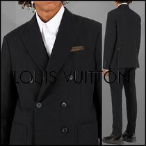 Louis Vuitton Short Monogram Blended Fabrics Plain Jackets