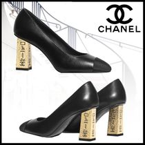 CHANEL Elegant Style High Heel Pumps & Mules