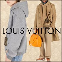 Louis Vuitton Louis Vuitton Staples Edition Double Face Wool Blend Hoody