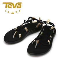 Teva VOYA INFINITY Casual Style Sport Sandals PVC Clothing Flat Sandals