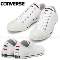CONVERSE ALL STAR Stripes Unisex Street Style Sneakers