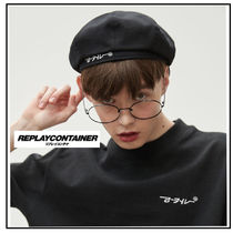 REPLAY CONTAINER Unisex Beret & Hunting Hats