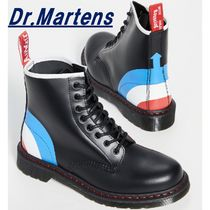 Dr Martens 1460 Casual Style Unisex Blended Fabrics Street Style