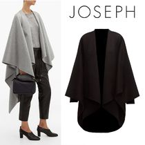 JOSEPH Wool Plain Ponchos & Capes