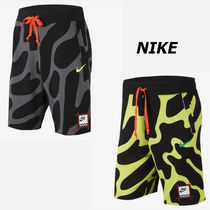 Nike Flower Patterns Street Style Shorts