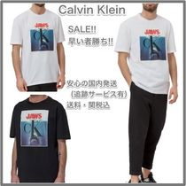 Calvin Klein 205W39NYC Crew Neck Cotton Short Sleeves Crew Neck T-Shirts