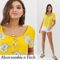 Abercrombie & Fitch Flower Patterns Tropical Patterns Casual Style Medium